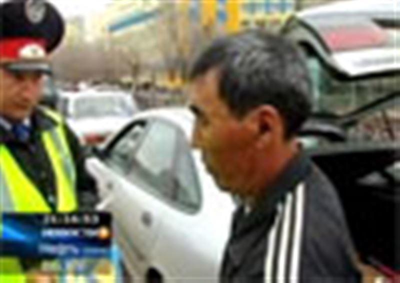 В Актобе объявили охоту на нелегальных таксистов. Всех, кто не хочет зарабатывать деньги законно, штрафуют