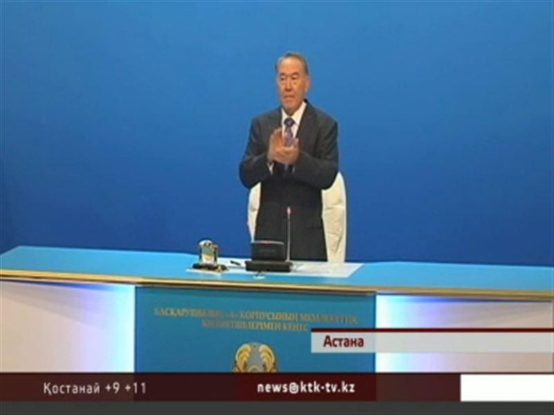 Н.Назарбаев «А корпусына» өткен шенеуніктерге қалай жұмыс істеу керектігін үйретті
