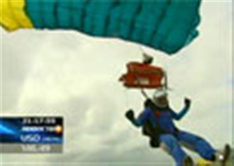 Близ Алматы прошел первый в этом году учебно-тренировочный сбор парашютистов
