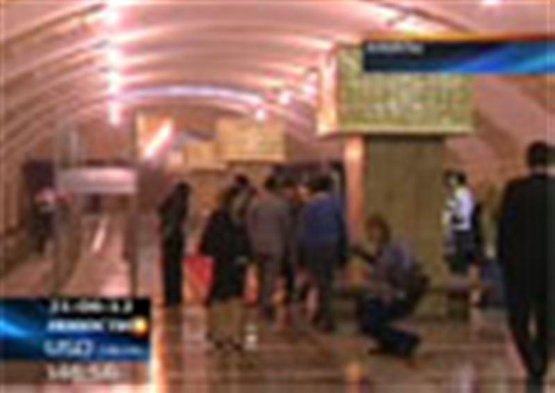 Нурсултан Назарбаев в ходе рабочей поездки по Алматы лично проверил, на каком этапе находится строительство городского метрополитена