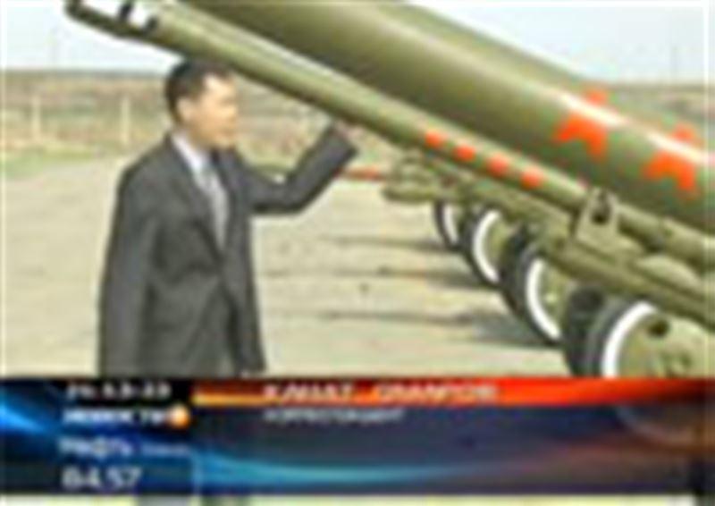 В окрестностях Астаны казахстанские артиллеристы репетировали салют, который прогремит в столице в День защитника Отечества и в День Победы