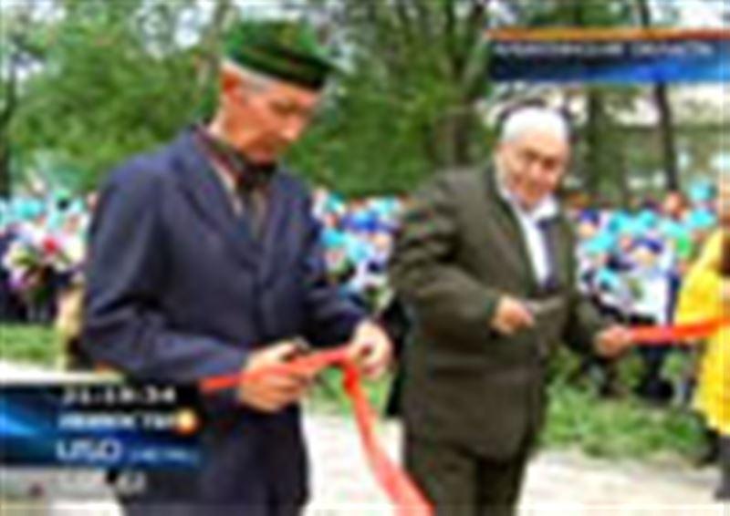Жители одного из поселков Алматинской области установили народный памятник ветеранам Великой Отечественной войны