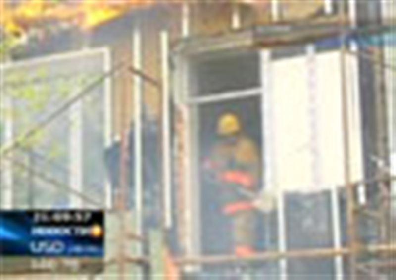 Пожар в столице. В Астане едва не сгорел детский сад