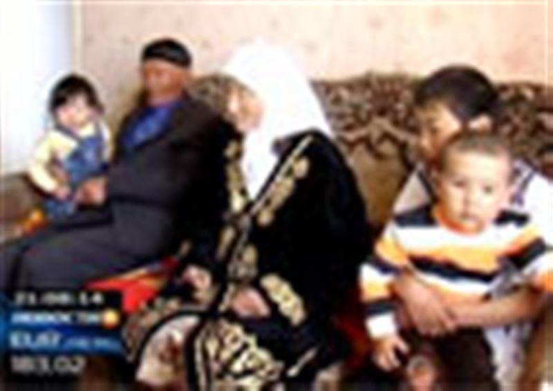 Долгожительница из пригорода Кокшетау  только сегодня получила свой первый паспорт