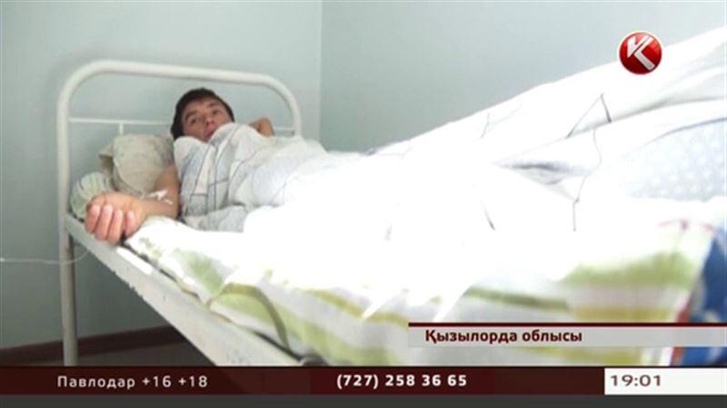 Қызылорда облысында жұмысшылар түскі астан соң ауруханадан бір шықты