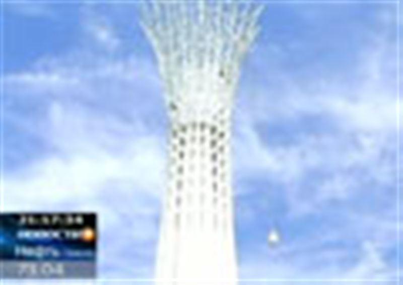 В Усть-Каменогорске торжественно  презентовали монумент, который местные чиновники уже прозвали «младшим братом» Байтерека