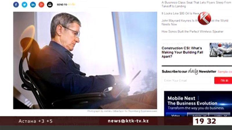 Әйгілі «Apple» компаниясының басшысы гей екенін мойындады