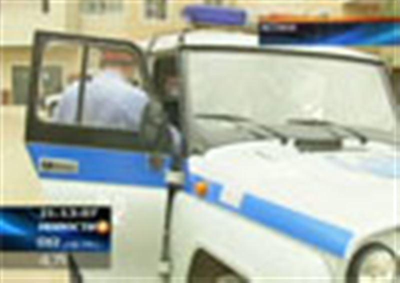 Сотрудникам дорожной полиции Астаны удалось задержать воров