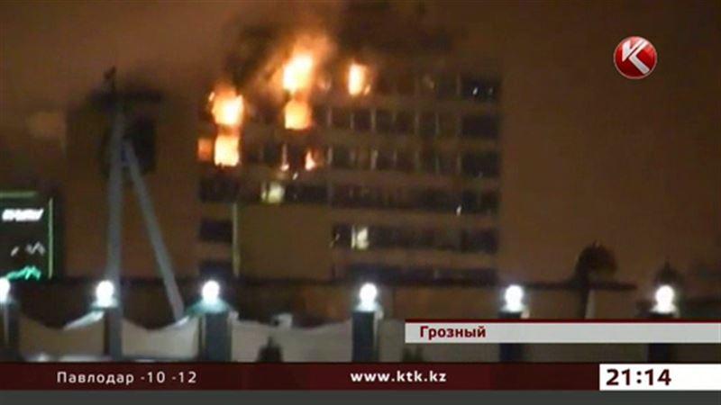 В самом центре Грозного уничтожили террористов