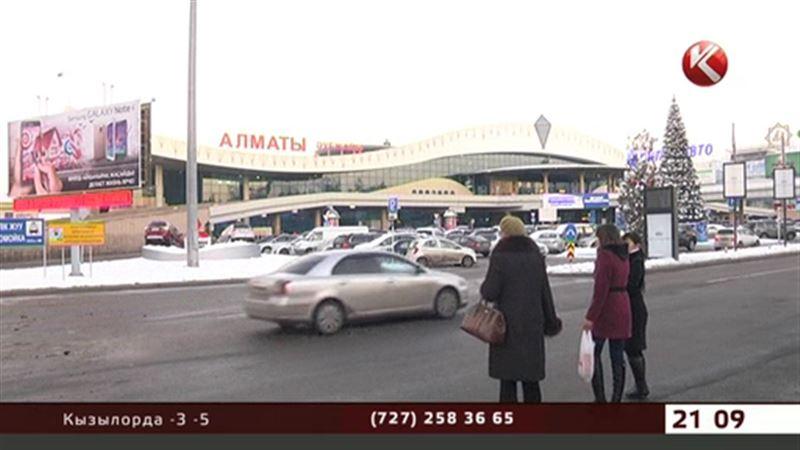 Работа алматинского аэропорта была парализована на несколько часов