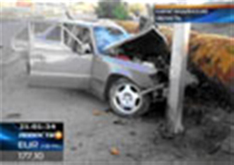 Крупное ДТП в Карагандинской области. В результате аварии в центре Жезказгана сегодня погибло 6 человек