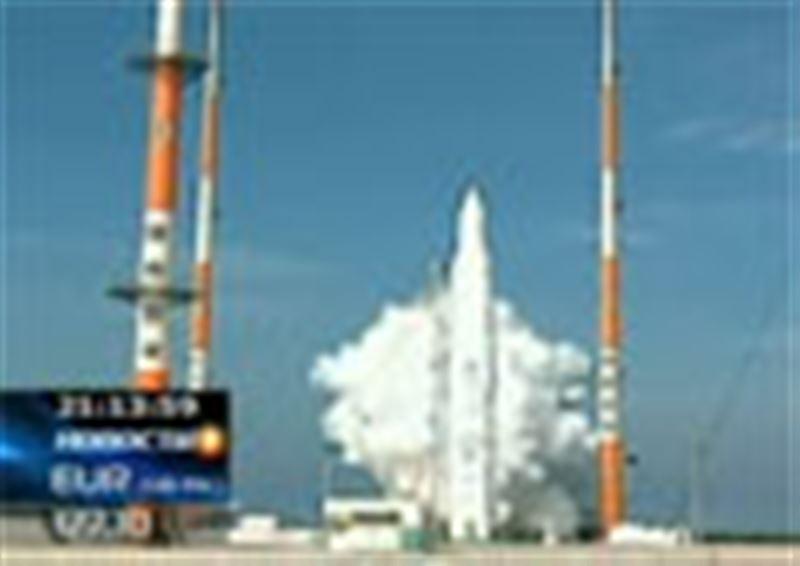 Неудачей закончился запуск ракеты в Южной Корее. Она взорвалась на высоте около семидесяти километров