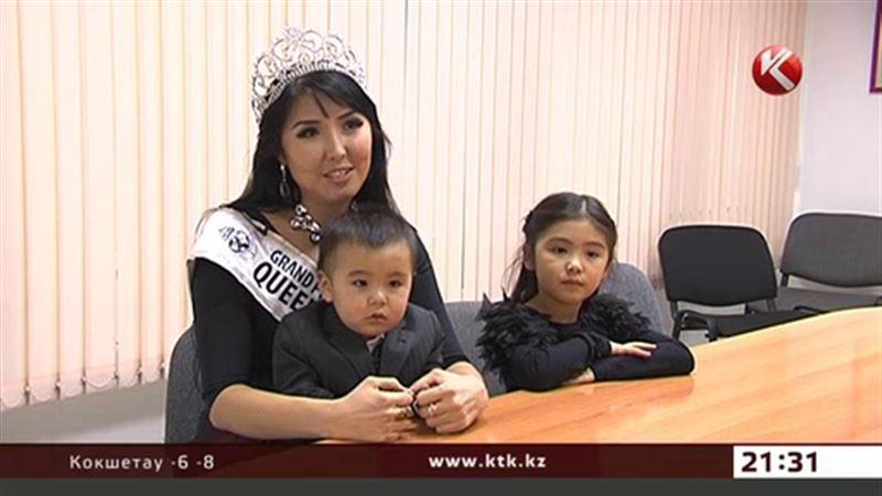 Многодетная мама из Алматы стала «Королевой планеты»