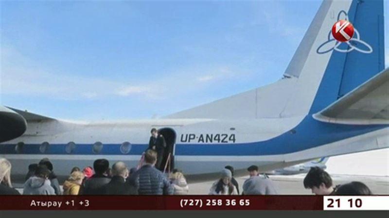 Казахстанским самолетам снова запретили летать над Европой