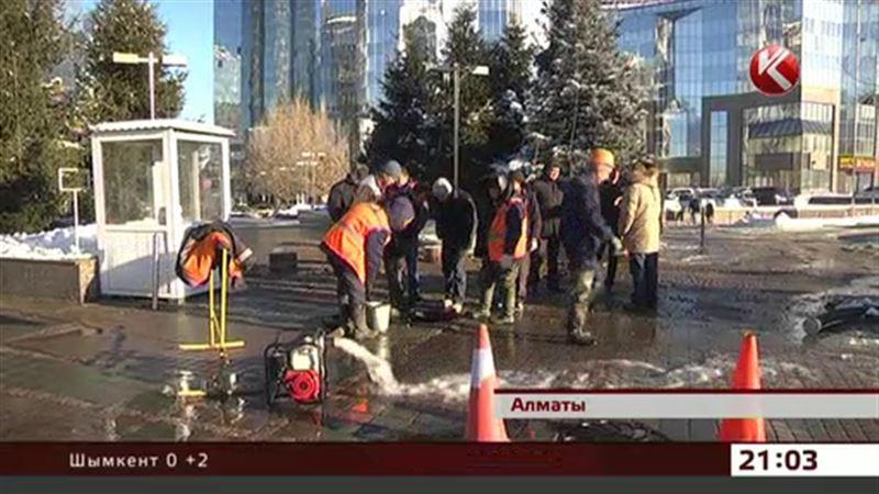 В Алматы 40 многоэтажек оказались без питьевой воды