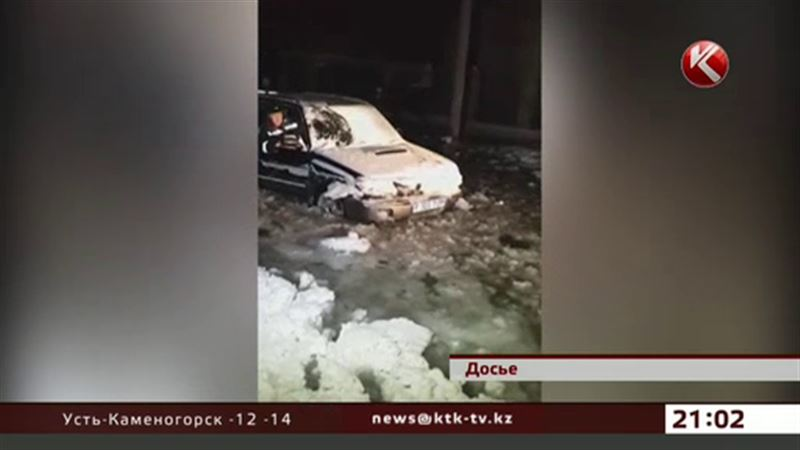 Лед сковал дома пострадавших от потопа жителей Семея