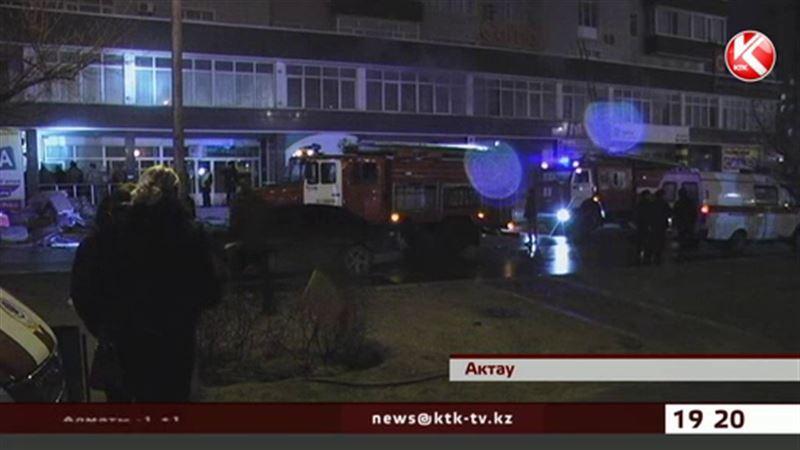В Актау ночью сгорел один из самых крупных магазинов