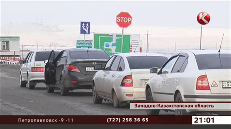 Пограничники ЗКО еле справляются с потоком едущих на шопинг в Россию