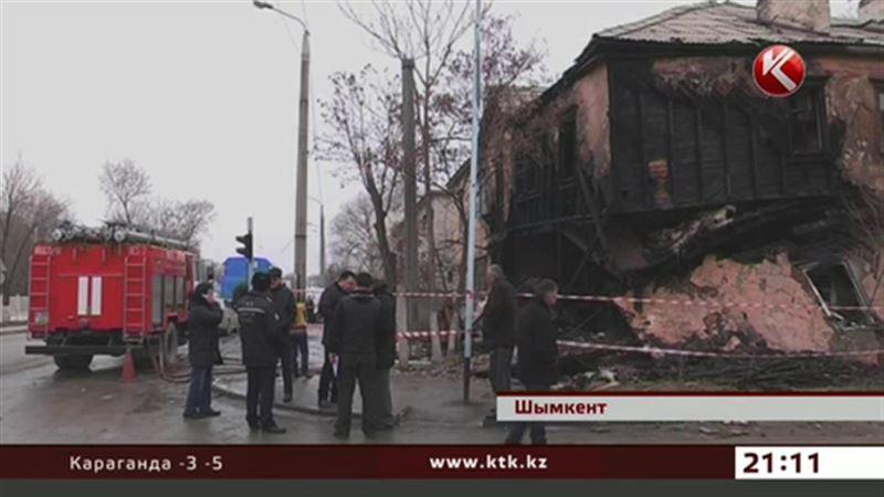 Шымкентские погорельцы обустраивают временное жильё