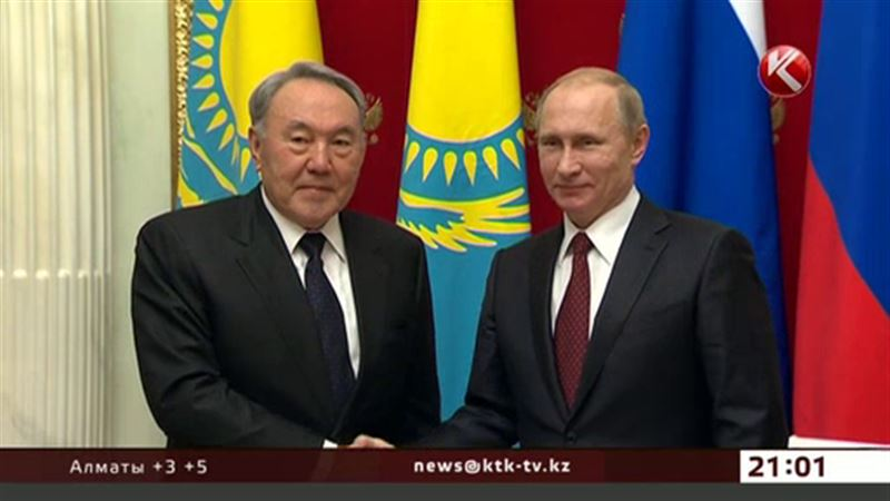 Назарбаев встретился с Путиным, чтобы заработал Евразийский экономический союз