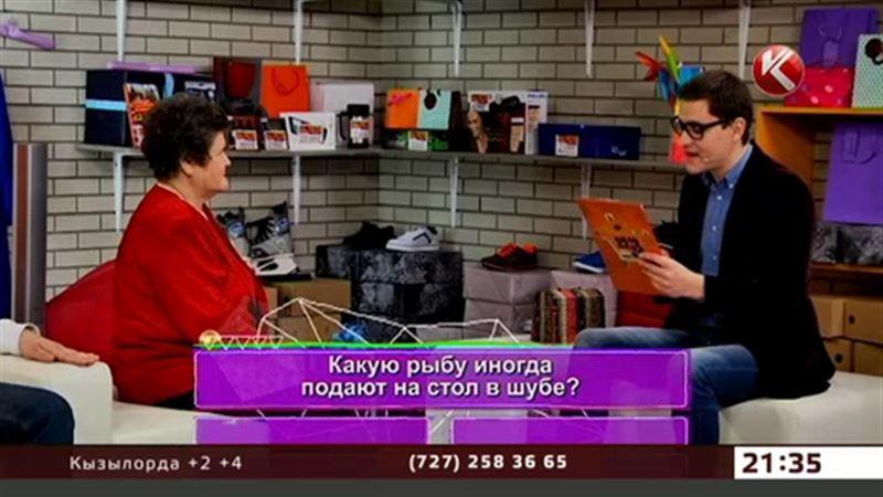 В вечернем эфире новое развлекательное шопинг-шоу «Оңай олжа»