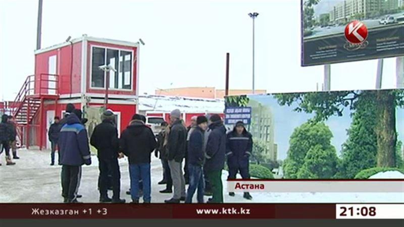 Турецкая компания отказывается выплачивать зарплату казахстанским строителям