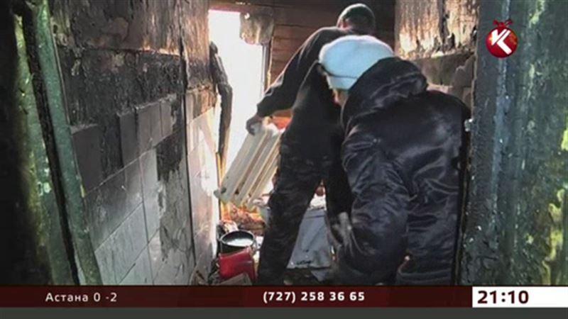 23 человека остались без жилья по вине шымкентской пенсионерки