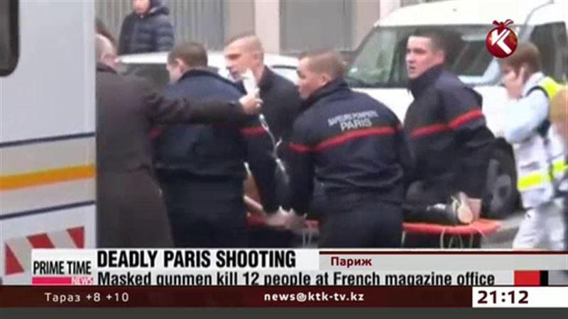 Париж подвергся террористической атаке