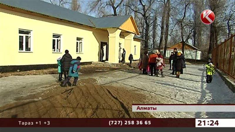 В Алматинской области в новой школе нет туалета, и дети «ходят» в выгребную яму