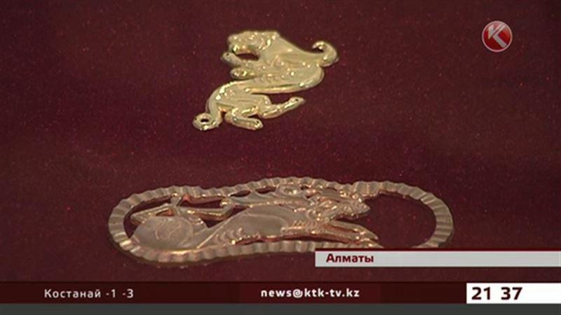Золотые артефакты обнаружены на окраине Алматы
