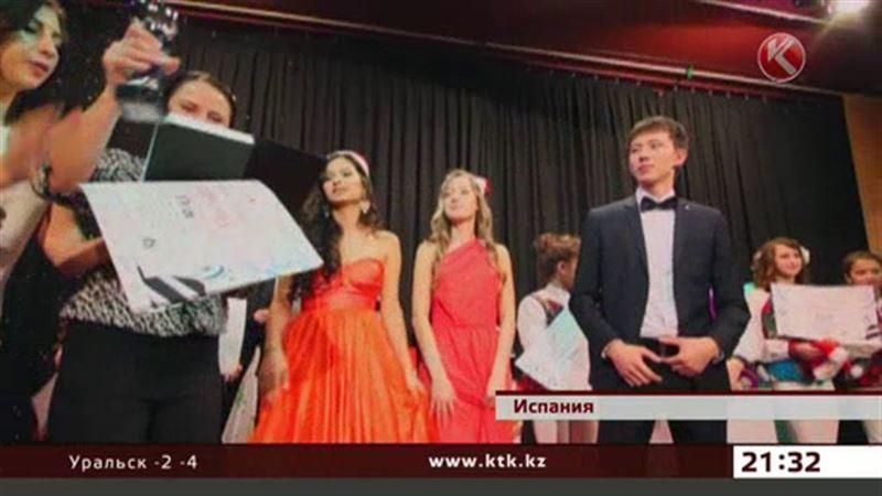 Поющие жестами казахстанцы взяли главный приз в Испании