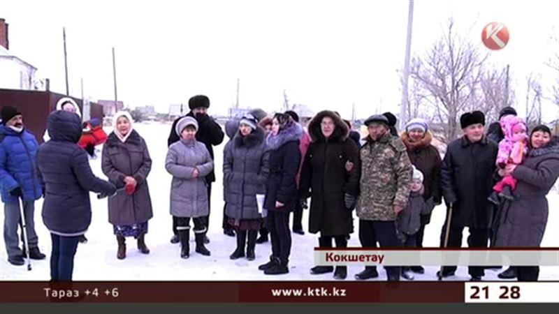 В Кокшетау жители целого микрорайона замерзают