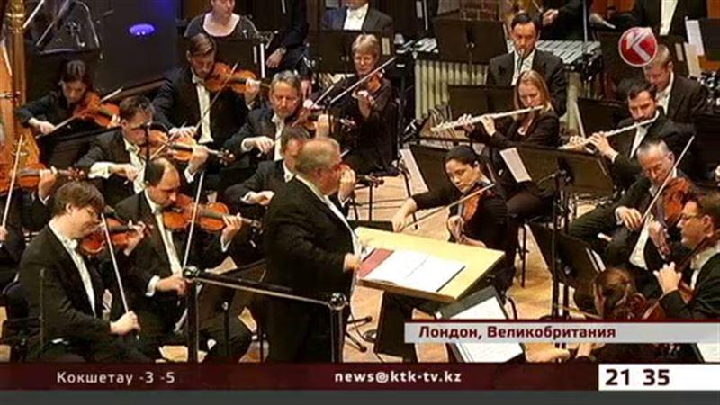 Музыку Еркеша Шакеева исполнил Лондонский симфонический оркестр