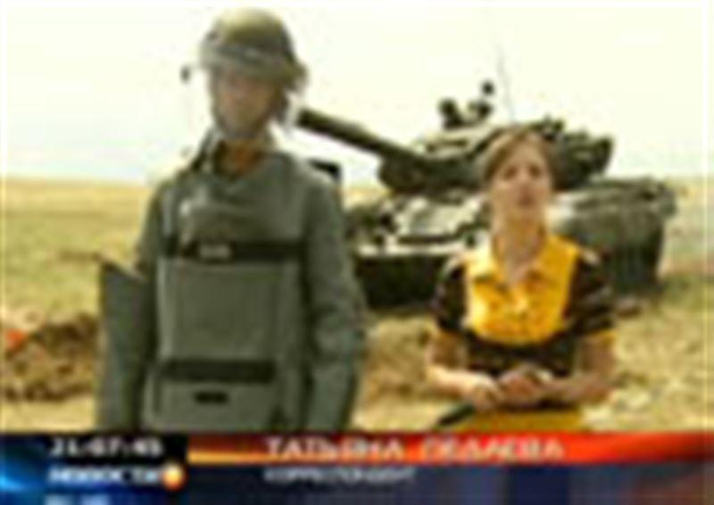 В Жамбылской области проходят широкомасштабные учения для высшего военного состава