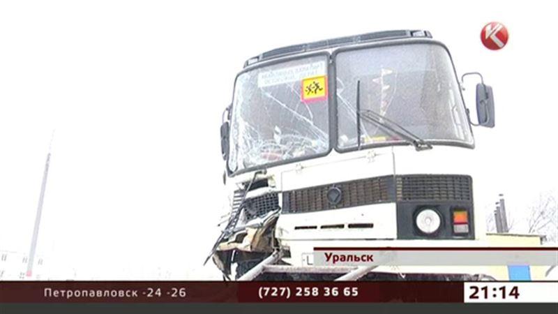 В Уральске водителю школьного автобуса грозит уголовная ответственность