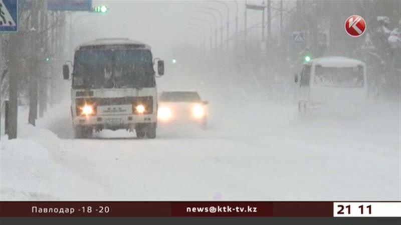 Холода уже обрушились на северные регионы страны