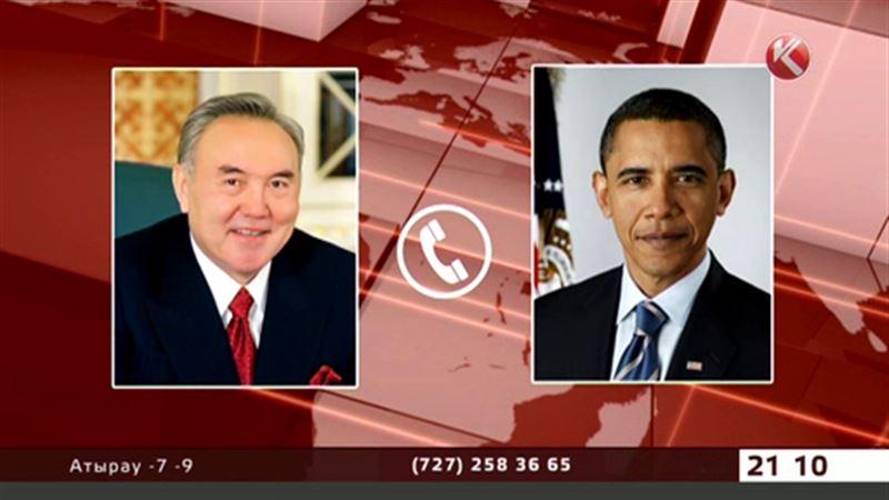 Президент США дозвонился до Нурсултана Назарбаева