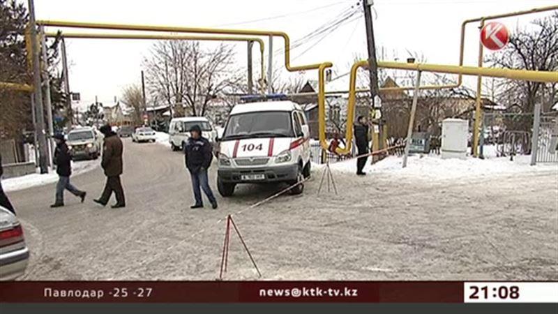 Из-за угрозы взрыва газа в Алматы эвакуировали школу