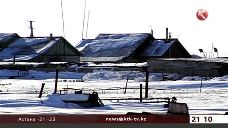 Аул в СКО в снежной блокаде – на исходе лекарства и продукты