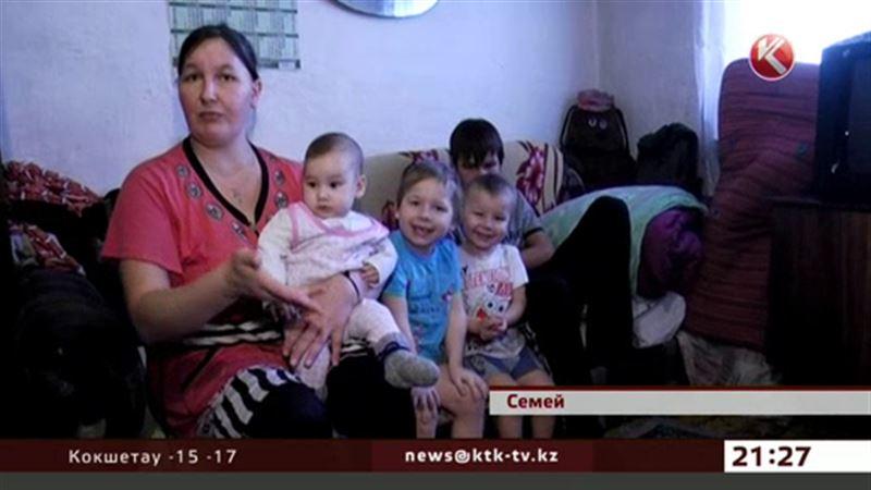 В Семее многодетная мать-одиночка выживает на 24 тысячи