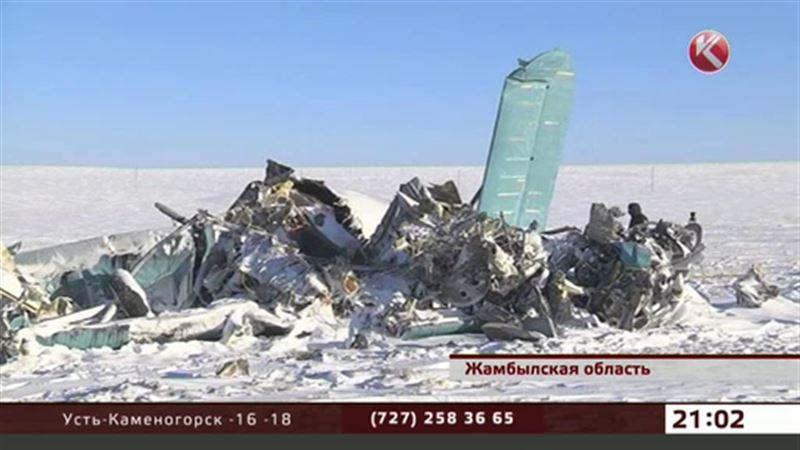 Обломки самолета Ан-2 доставили в Алматы