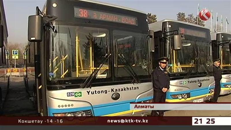 У алматинцев еще сто новых автобусов