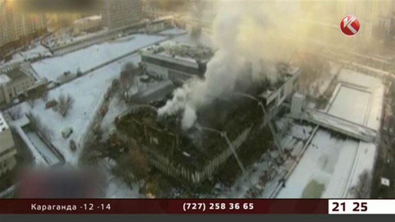 В Москве горела крупнейшая научная библиотека