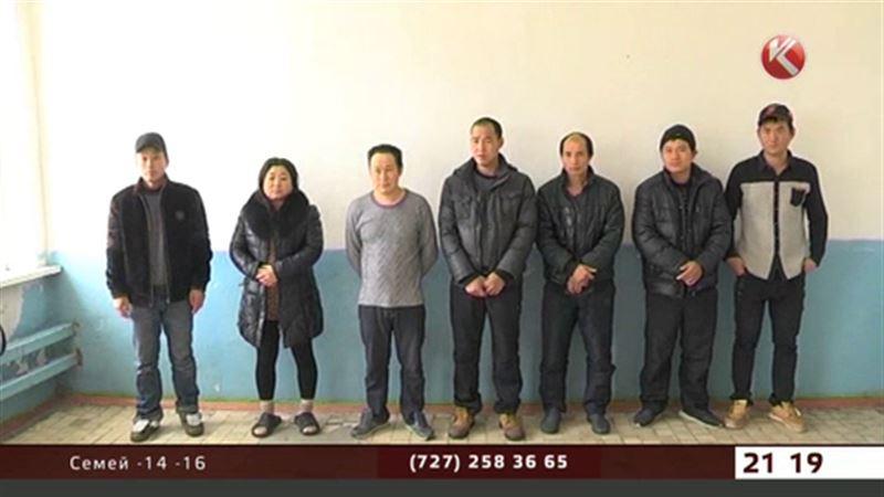 В Жамбылской области задержали китайцев-нелегалов