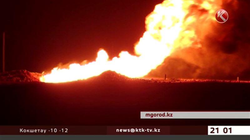 На газопроводе в ЗКО произошел взрыв