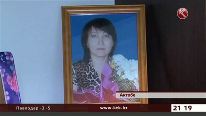 В Актобе отец троих детей обвиняет врачей в смерти жены