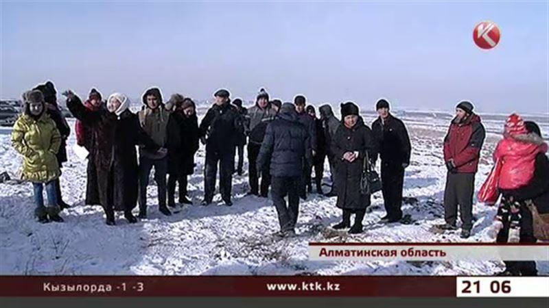 Жителям Алматинской области продали землю, на которой нельзя строиться