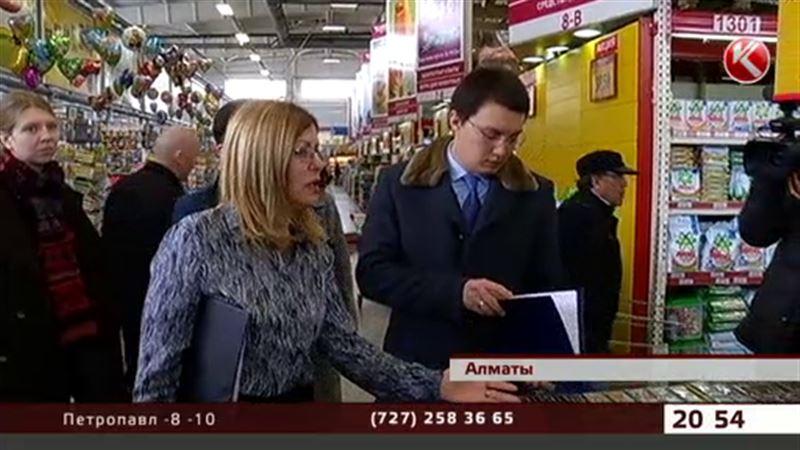 Алматылық шенеуніктер базардан қымбат баға таба алмады
