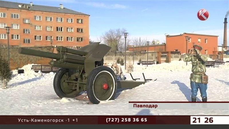 Музей воинской славы в Павлодаре разоряют юные вандалы