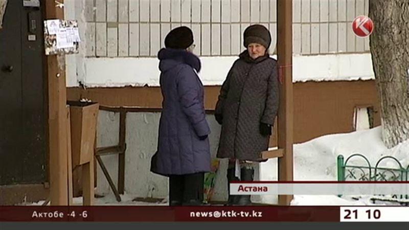 Аким Астаны оставит бабушек без лавочек